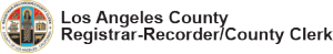 la county registrar recorder / county clerk